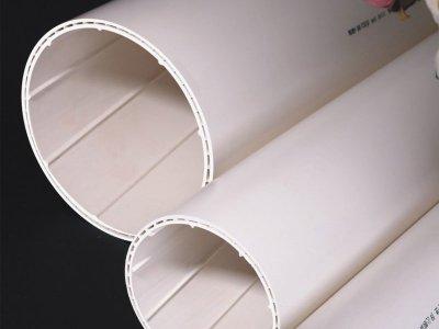 PVC-U中空内螺旋排水管
